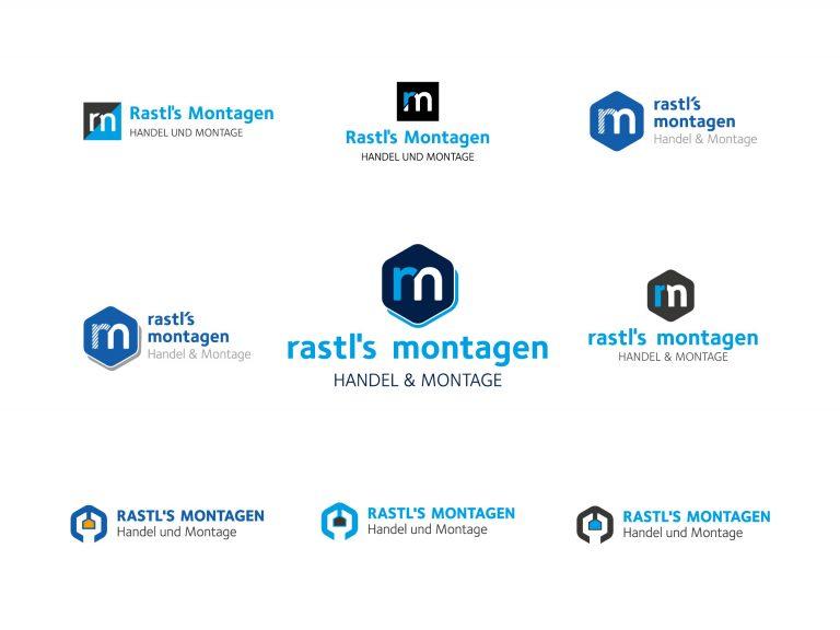 Logo-Entwurfsphase