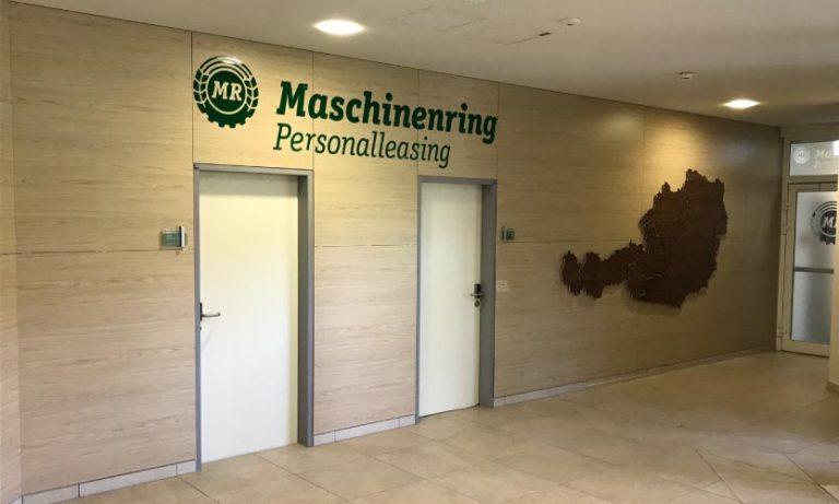 Maschinenring Innenraumgestaltung - nachher