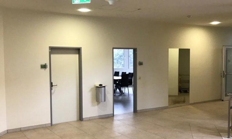 Maschinenring Innenraumgestaltung - vorher